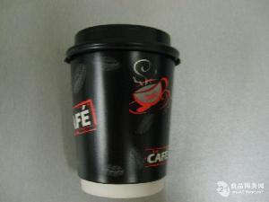 8盎司278g纸真空贴面咖啡纸杯带盖
