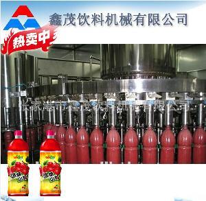 绿茶饮料设备机械灌装生产线