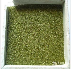有机绿茶片