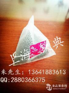 碎茶三角包自动包装机 荷叶茶电子秤包装机