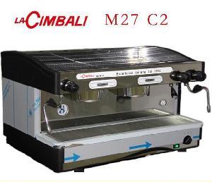 新款金佰利M27 C2双头咖啡机 商用手控