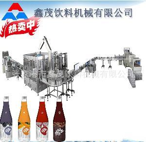 瓶装碳酸饮料灌装封口机