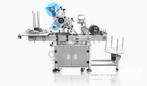 2013*版全自动砂轮片专用贴标机贴标过程详解