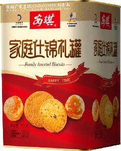 安琪家庭什锦礼罐,深圳年货批发,特产