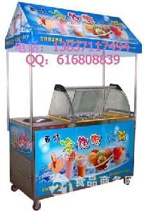 双锅炒酸奶机