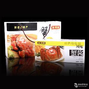 喜福瑞阳澄湖苏州特产喜福瑞蟹酱