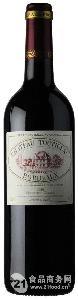 法国原瓶进口波尔多原木箱古堡干红葡萄酒