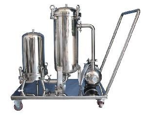 移动式袋式过滤器系统