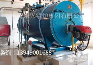 4吨燃煤气热水锅炉