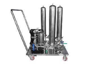 移动式滤芯过滤器系统