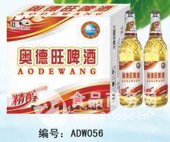 2014品质青岛澳德旺精醇500ml啤酒