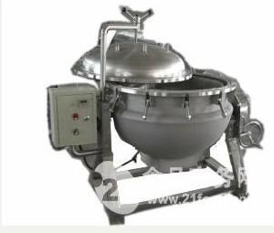 电脑全自动不锈钢燃气式行星搅拌夹层锅