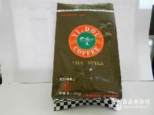 咖啡豆自立拉链防潮气阀铝箔袋