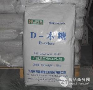 长期供应优质食品级结晶D–木糖