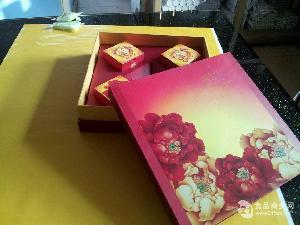 心合月饼纸盒七星伴月装
