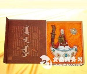 皮壶奶酒D-29礼盒奶酒46%vol 500ml×1×5盒