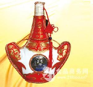 皮壶奶酒D-14 马奶酒 46%vol 750ml 10瓶装