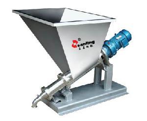 高粘度物料专用螺杆泵