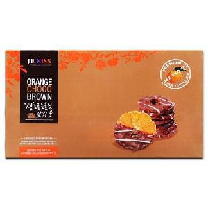 济州之吻香橙片巧克力脆片72g