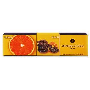 济州之吻香橙片巧克力脆片长盒72g