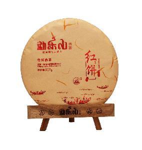 2013年观复 红饼 熟普洱茶357克