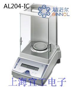 特勒AL204-IC内校分析天平