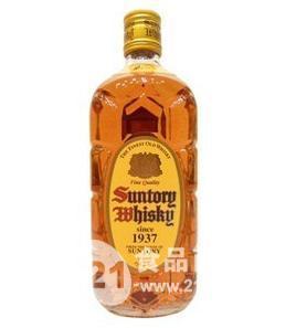 日本三得利角瓶 角牌威士忌700ml