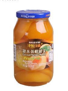 500g糖水黄桃罐头