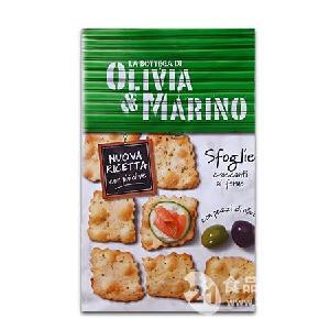 意大利百味来奥利维亚饼干橄榄味150g