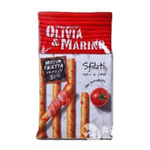 意大利百味来奥利维亚饼干条番茄味200g