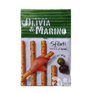 意大利百味来奥利维亚饼干条橄榄味200g