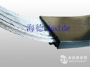 钢丝绳提升机输送带