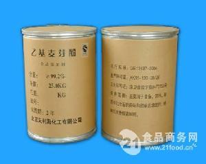 京萃乙基麦芽酚25kg/桶