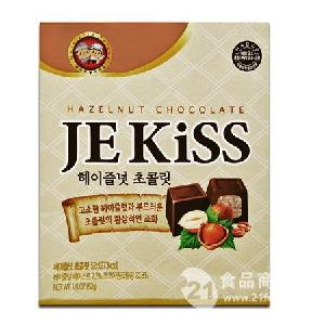 济州之吻榛子巧克力52g