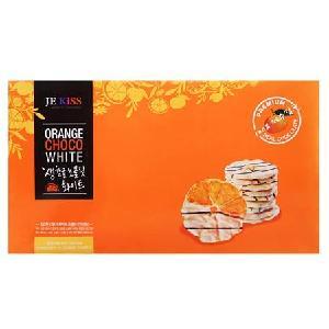 济州之吻香橙片白巧克力脆片72g