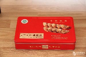 天津特产十祥斋麻花礼盒(铁盒)500g