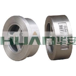 不锈钢H71W-25P对夹式止回阀