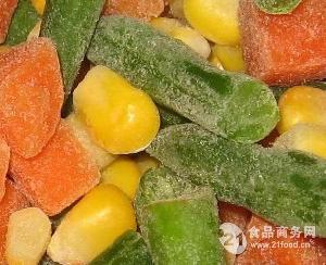 厂家直供冷冻混合菜速冻果蔬速冻蔬菜