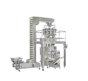 自动定量榴莲干立式包装机