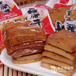 蜀道香麻辣豆腐干250g