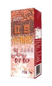 红豆谷物奶红豆饮料