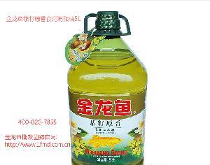 金龙鱼茶籽原香食用调和油5L