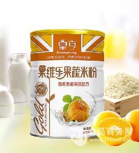 果蔬米粉南瓜紫薯-铁听428克