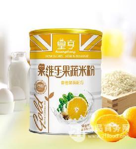 香橙果蔬营养米粉-428g