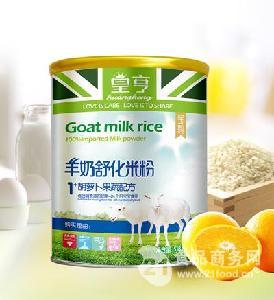 羊奶米粉胡萝卜果蔬-518g