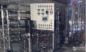 2T二级不锈钢反渗透纯水设备
