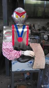 全自动不锈钢奥特曼刀削面机器人