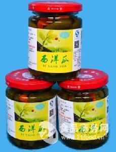高品质腌制小黄瓜瓶装净含量240G