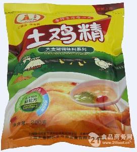 大金湖优质土鸡精200g—袋装