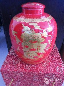 10斤中国红酒坛